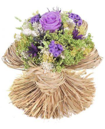 Bouquet Raffia Lavender